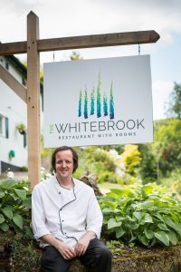 Chris Harrod owner and chef patron The Whitebrook Wales