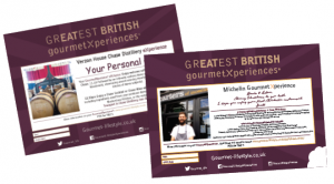 GourmetXperience Voucher samples