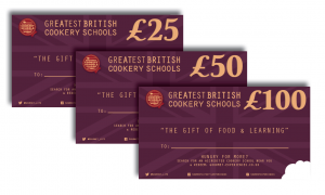 Cookery Schools Gift Vouchers