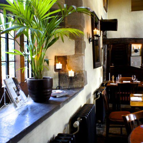White Hart Fyfield Oxfordshire Restaurant Main Hall Gallery