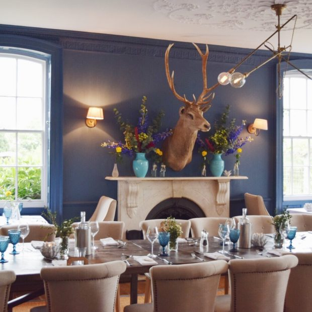 Verzon House Hotel restaurant Herefordshire