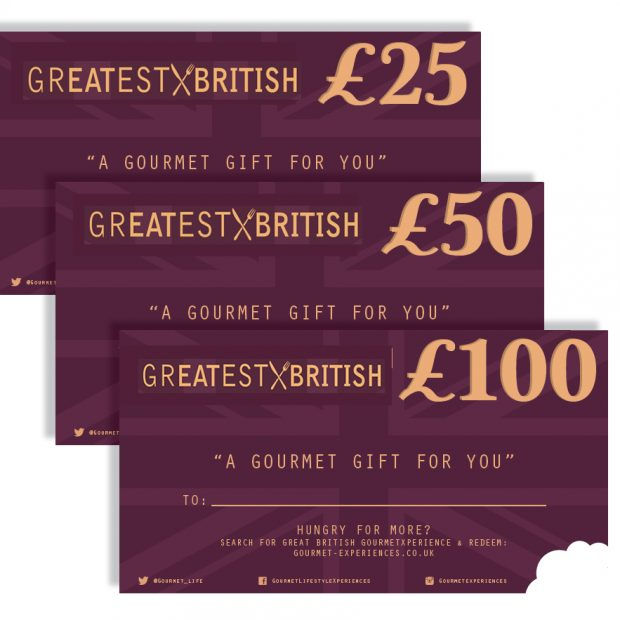GREATEST BRITISH Vouchers