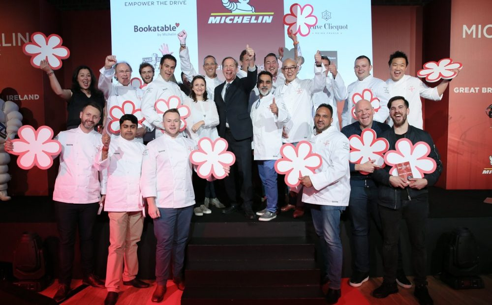 Michelin 2018 Chef Awards