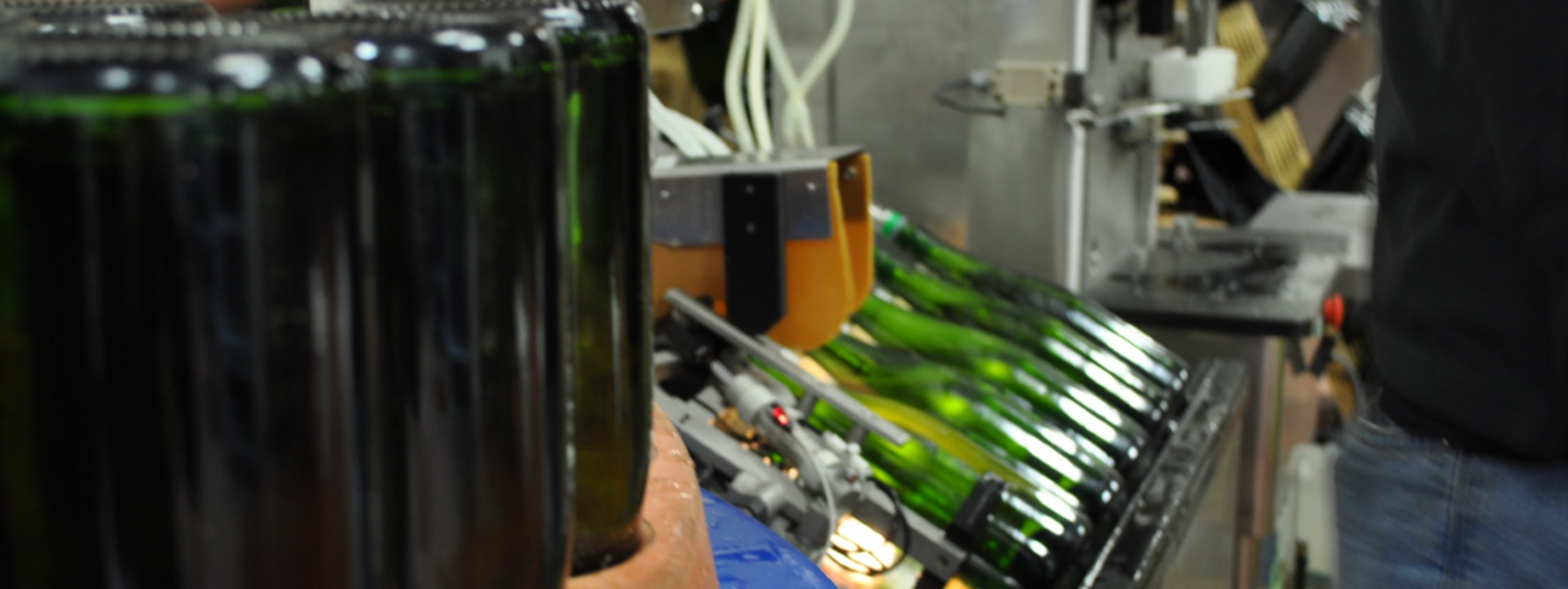 Hattingley Valley English Wine Bottling