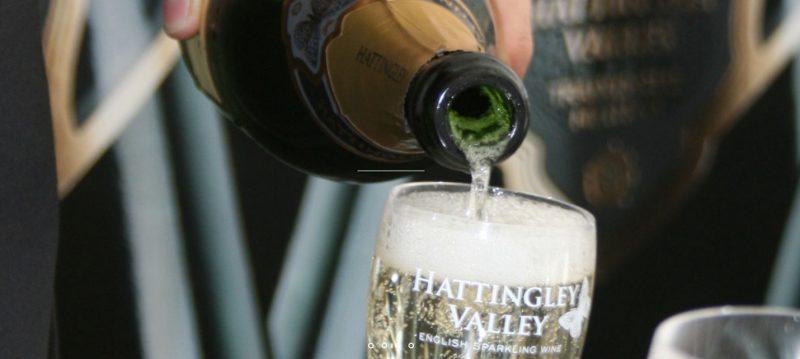 Hattingley Valley English Wine Pour
