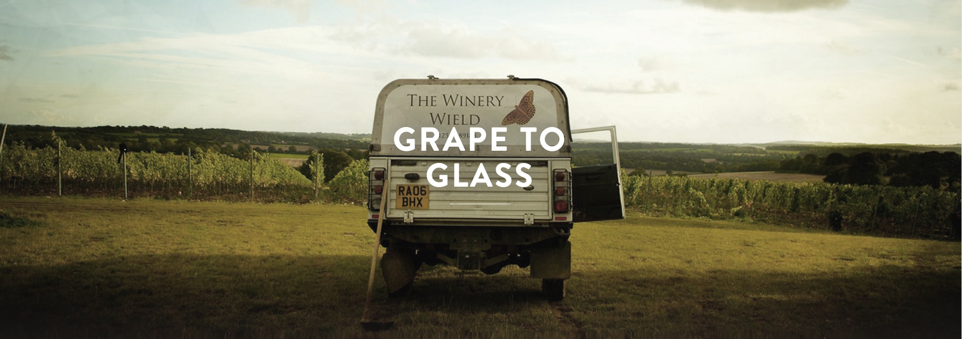 Hattingley Valley English Wine Production Land Rover