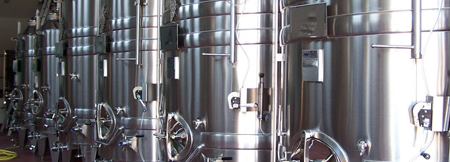 Hattingley Valley English Wine Production Vessles