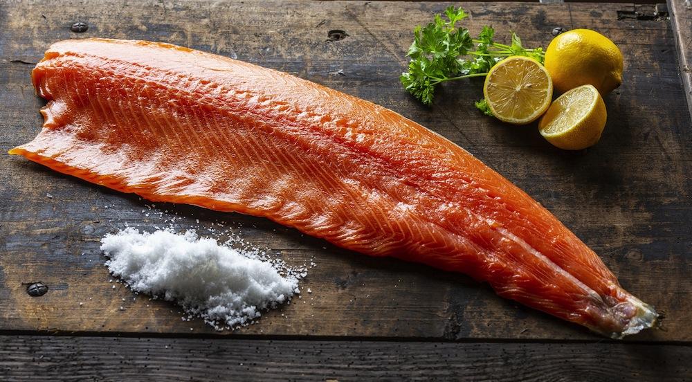 Macneils Beech Wood Smoked Salmon