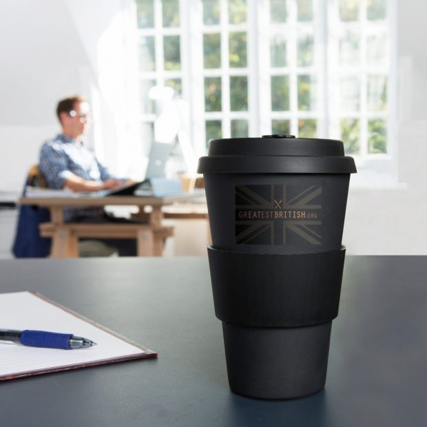 REATEST BRITISH Eco Bamboo Coffee Mug